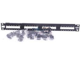 林芝康普 六类非屏蔽24口配线架 406330-1