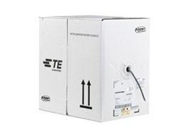 林芝康普 超五类非屏蔽网线 白色箱 6-219507-4