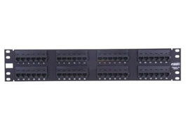 林芝康普 超五类非屏蔽48口配线架 406331-1