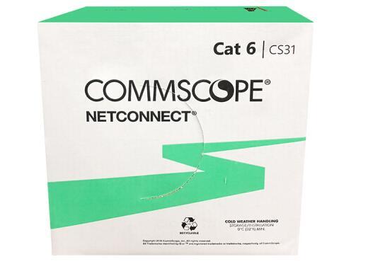 林芝康普 六类非屏蔽网线 CS31